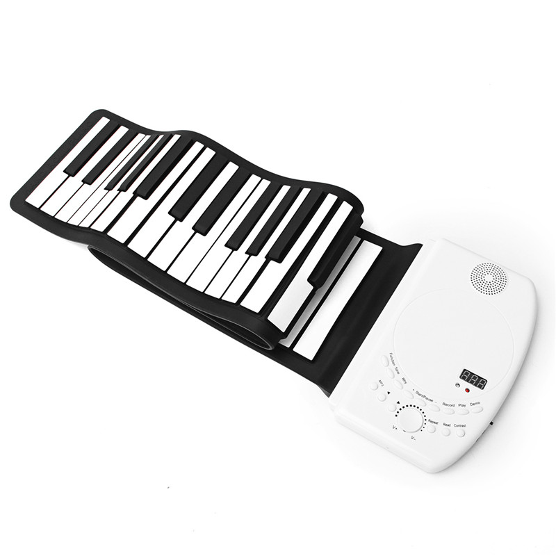 61 Keys Flexible Foldable Soft Portable Electric Roll up Keyboard Piano For Keyboard Musical Instruments Parts Accessories swan 37 keys melodica black color teaching music fundamentals mouth organ melodica musical instruments accordion accessories