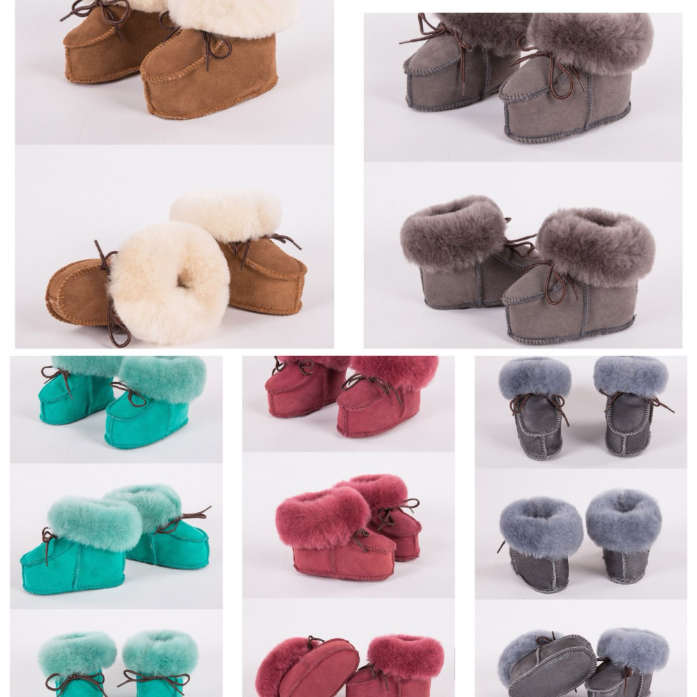 wholesale baby boots genuine leather and genuine fur keep warm so thick newborn boots firstwalker 10 pairs choose colors wholesale baby boots genuine leather non slip baby shoes mixed colors leopard print baby moccasins
