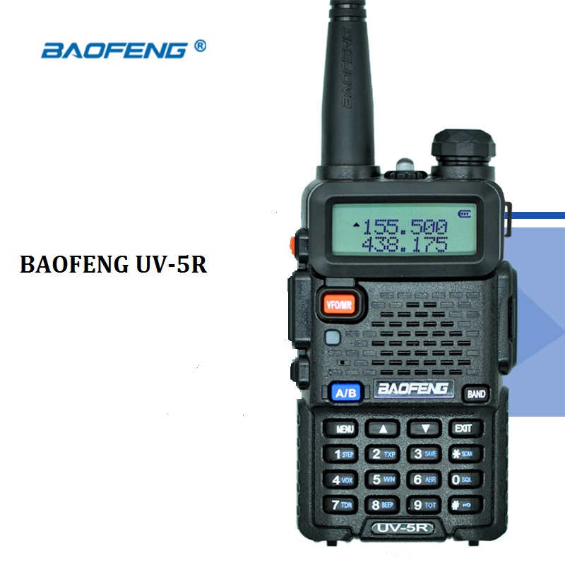 BAOFENG UV 5R ham radio Dual Band Radio 136 174Mhz 400 520Mhz Baofeng UV5R handheld radio