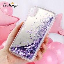 Glitter Liquid Quicksand Cases for iPhone 7 XR X XS Max Case Coque For 8 Plus Cover 6 6S Capa