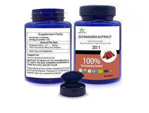 Image 3 - Naturale Estratto di Schisandra capsule, 100% Schisandra Estratto in polvere 20:1 Schisandrin UN Schisandrin B