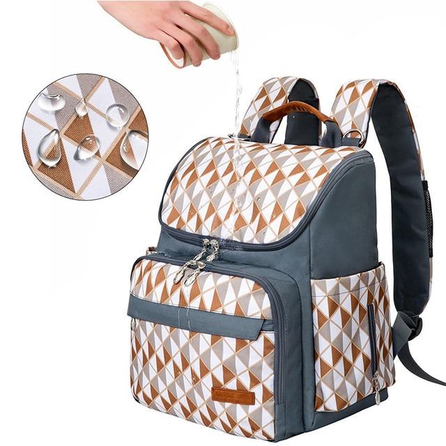 VRTREND Nursing Bag For Baby Stroller Travel Backpack