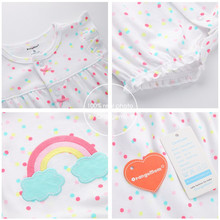 Baby Girl Clothes One-pieces Bodysuits baby clothing ,cotton short romper infant girl clothes  roupas menina
