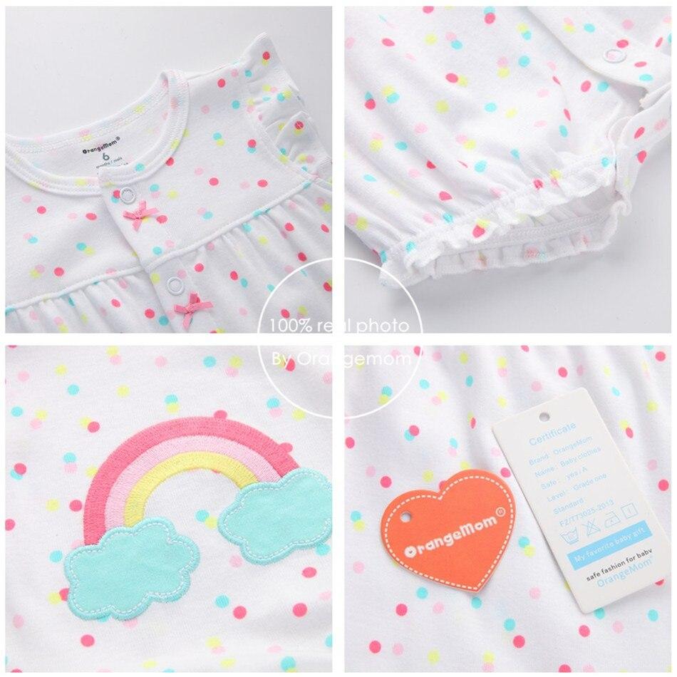 2019орангемом летна девојчица одећа - Одећа за бебе - Фотографија 4