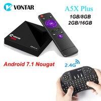 A5X Plus RK3328 Rockchip Android 7 1 TV BOX 1GB 8GB 2GB 16GB 2 4G WIFI