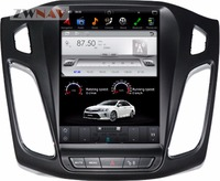 ZWNVA Tesla style Screen Newest Android 6.0 64+2GB Car DVD Player GPS Navigation Radio Screen For Ford Focus 2012 2015