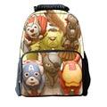 Orthopedics 3D Children School Bags High Quality Cartoon Backpack Large Capacity Travel Backpack For Boys Girls Mochila Escolar