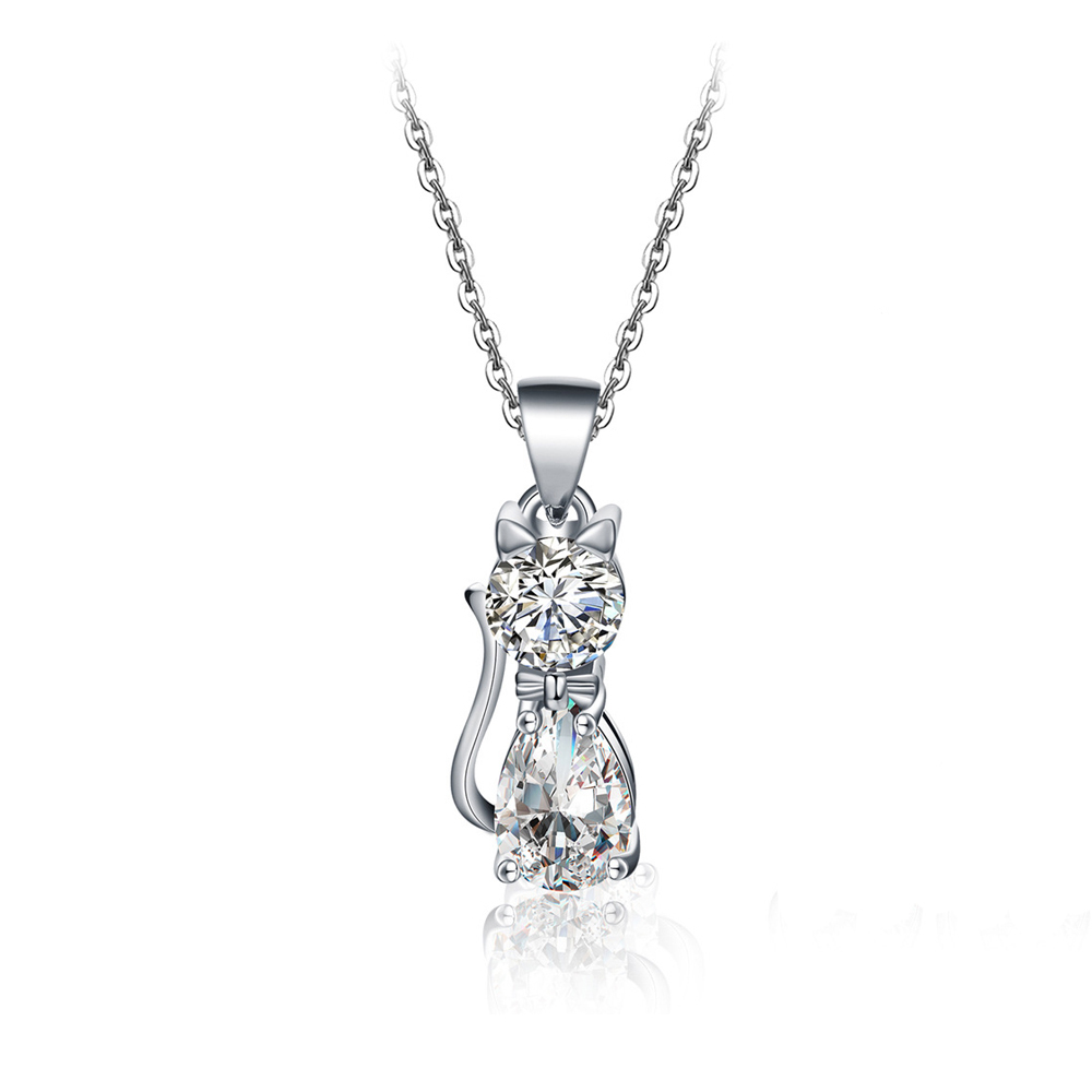 Https Item 32854727834html Ae01alicdn Comport Carpet Karpet Mercy C250 Coupe 2 Pintu Deluxe 12cm New Luxury Square Zircon Jewelry Silver Plated Cat Necklace Wedding For Women P250