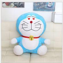 lovely plush heart-eyes doraemon toy stuffed cute doraemon doll perfect gift about 35cm