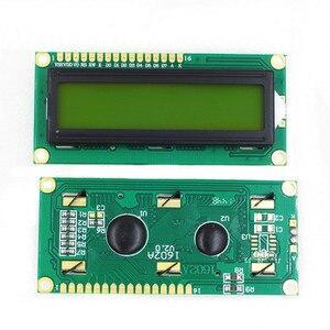 Image 2 - 10PCS LCD1602 1602 Modulo LCD Blu/Giallo Schermo Verde 16x2 Carattere Display LCD PCF8574T PCF8574 IIC i2C Interfaccia 5V