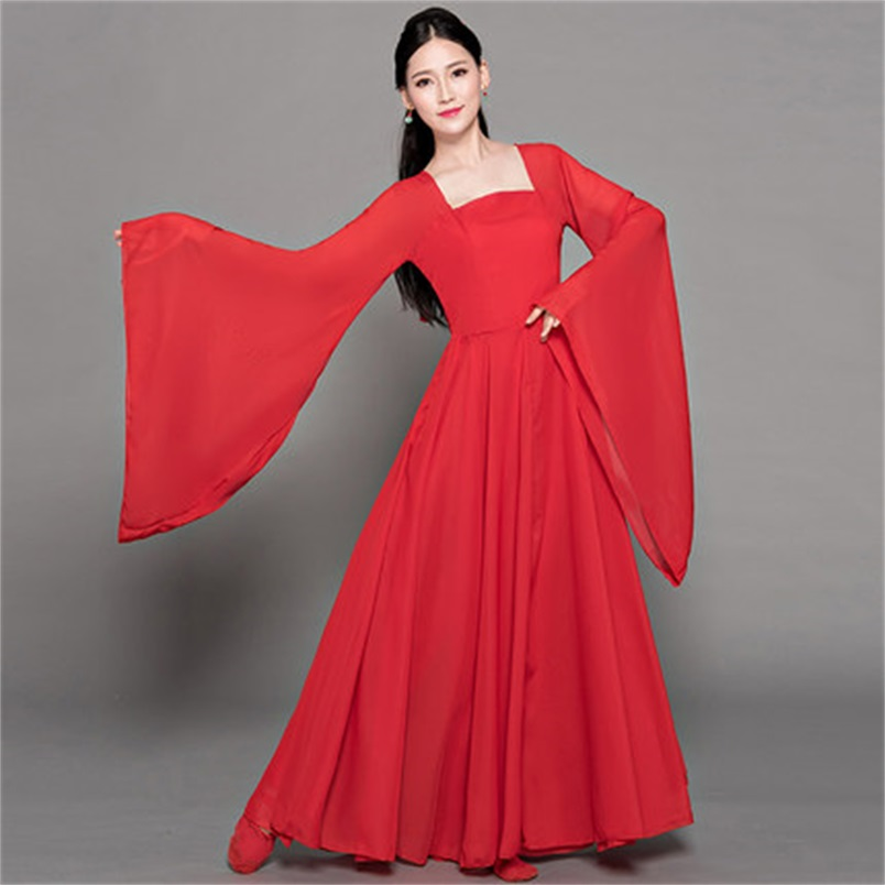 Women's Adult Chinese National Classical Performance Clothing Elegant Fresh And Elegant Chinese Clothing Modern Dance Costumes