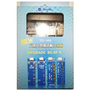 Image 1 - SS 909 Universele Mobiele Telefoon Opladen Activering Board voor Iphone X 8 8 p 7 7 pBattery Kabel Test Activering voor ipad voor Samsung