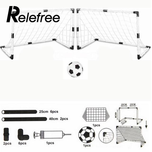 Relefree Diy Children Sports Soccer Goals Train Garden Game 2