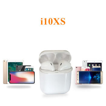 i10XS TWS Bluetooth 5.0 Wireless Earphone Touch Control Portable Headset Earbud for iPhone & Android Air pods Xiaomi Headphone