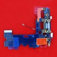 30 sztuk brand new ładowarka charging dock connector port flex cable replacement parts + narzędzia dla iphone 7 czarny