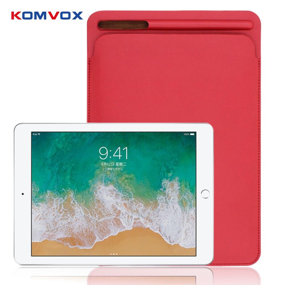 43c52976 Torba Pokrowiec z Ołówkiem Slot dla iPad Pro 10.5 PU Leather Case Pokrowiec  do ipada Pro 10.5 cal