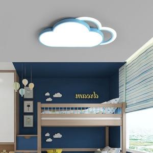 Image 1 - Lámpara de techo de Luna y estrella blanca para dormitorio, accesorio de iluminación moderno para habitación de niños y bebés, luces Led para el techo del hogar