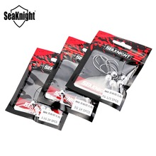 SeaKnight SK03 Tungsten Steel Hook Crank Hook 5PCS Fishing Hooks Lead Head 3.5g 5g 7g Jig Fishing Accessories for Worm Soft Lure