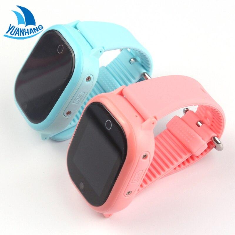 YH Smartwatch IP67 De Bain Tactile Téléphone Intelligent Appel SOS GPS WIFI Dispositif de localisation Tracker Enfant Bébé Anti-Perdu Montre Moniteur de PK DF25 Q90