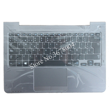 SP For Samsung NP530U3C NP530U3B NP535U3C 530U3B 530U3C NP540U3 NP532U3C NP532U3A Spanish keyboard gray palmrest cover