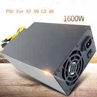 ANTMINER S9 Asic Bitcoin Power Supply 12V 1600w Mining Case Antminer S7 S9 L3 A3 APW3