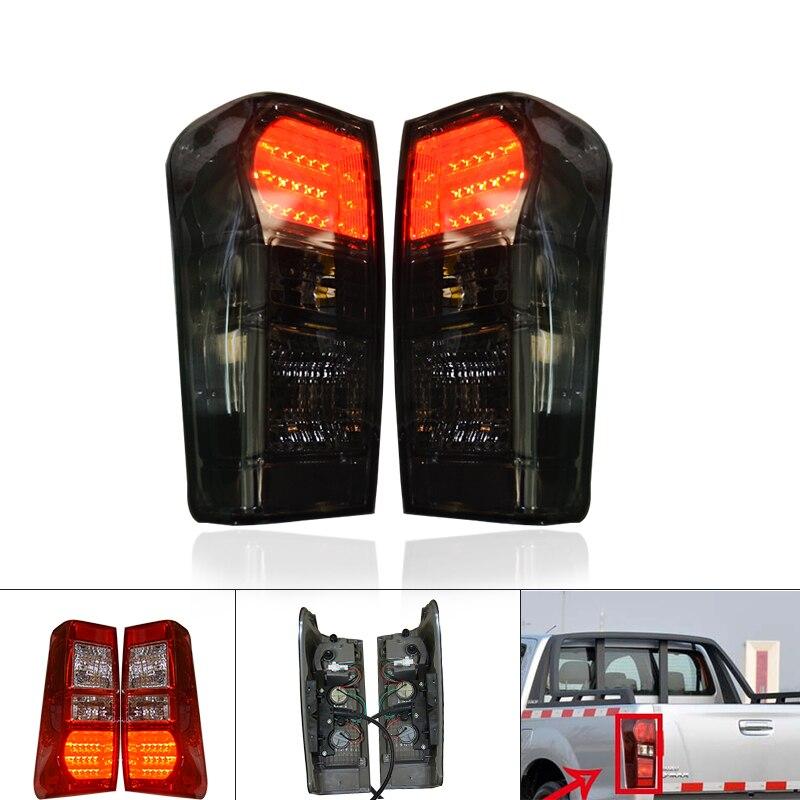 Светодиодный задние фонари тормозные сигнальные огни пригодный для ISUZU D MAX DMAX 2012 2017 раскладки деталей автомобиля аксессуары В Бесплатная от