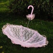 Стильный Зонтик в западном стиле, кружевной зонтик, украшение для свадьбы, невесты
