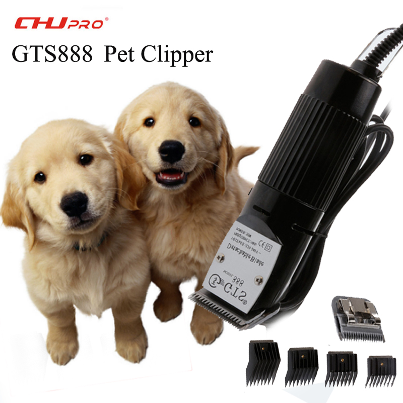 CHJ Pet Clipper Trimmer Cutting Machine For Dog Clippers Animal Professional Hair Clipper Cutting GTS888 Hair