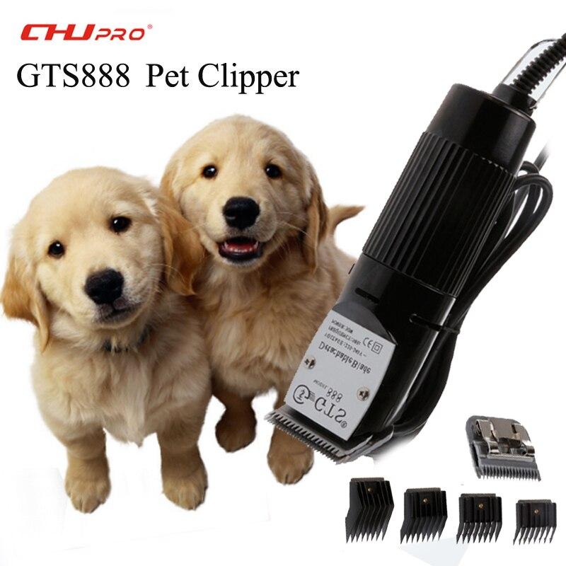 CHJ tondeuse pour animaux de compagnie tondeuse Machine de découpe pour chien tondeuses Animal professionnel tondeuse à cheveux coupe GTS888 Machine de découpe de cheveux