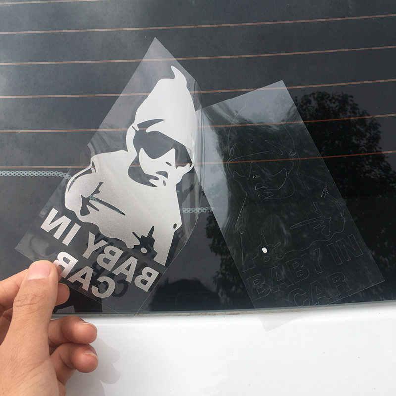 車のステッカーフィアットパンダ Bravo Punto Linea Croma 500 595 BABY IN CAR 子車のステッカー