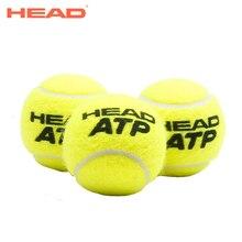 HEAD 3PCS/Tube Original ATP Tennis Balls Official Tennis Ball Of London Master Raquete De Tennis Ball For Match Training Ball