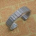 Thiner Watchband Relógio De Metal Em Aço Inoxidável Pulseiras de Relógio Pulseiras para mens womens 18 MM 20 MM 22 MM Prata Promoção acessórios