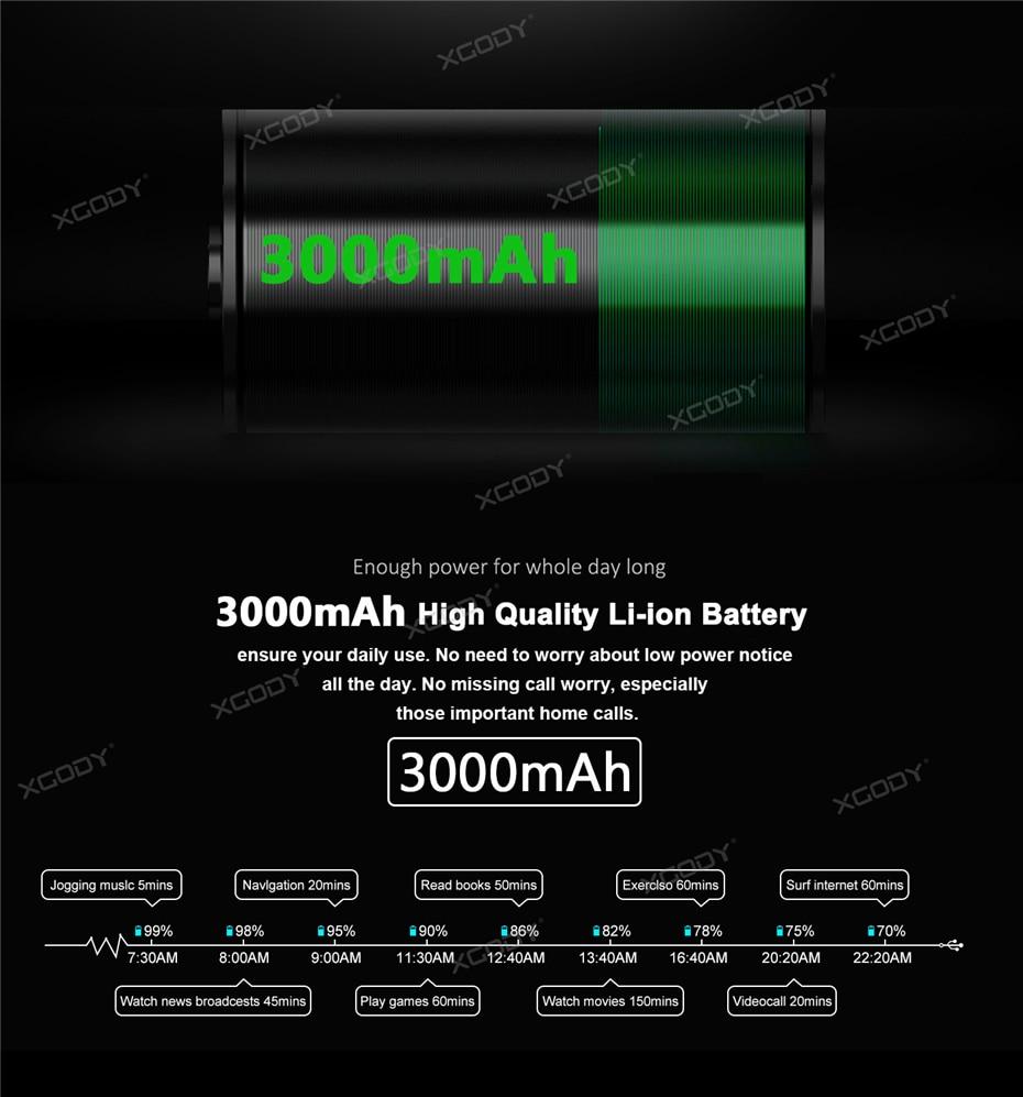 XGODY X25 3000mAh High Quality