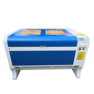 Image 2 - Gratis verzending 1060 100 w Co2 laser graveermachine 1000*600mm 110 V/220 V cnc laser graveur DIY laser markering machine
