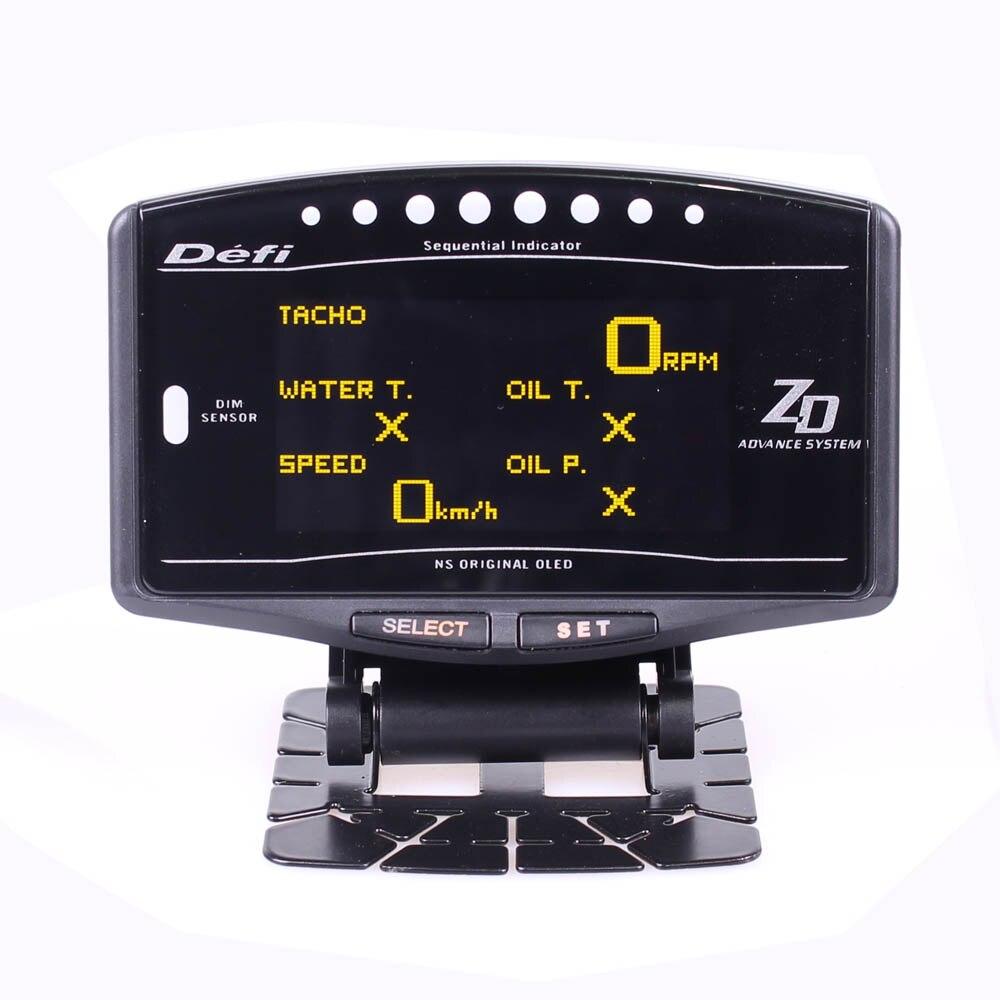 DEFI Advance ZD 10 in1 Defi style link Auto Gauge DF09701 DF09703 Sports Package Digital Tachometer