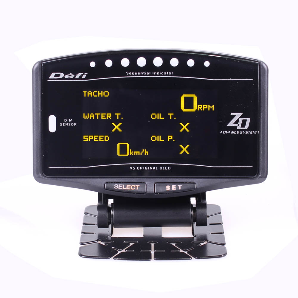 DEFI Advance ZD 10 in1 Defi style link Auto Gauge DF09701 DF09703 Sports Package Digital Tachometer Full Kit BF CR C2 meter usr ble101 cheap uart ttl v4 1 bluetooth module master and slave mode supported built in ibeacon protocol 10pcs lot