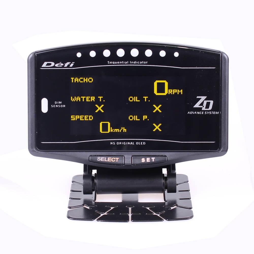 DEFI Advance ZD 10 in1 Defi style link Auto Gauge DF09701 DF09703 Sports Package Digital Tachometer Full Kit BF CR C2 meter