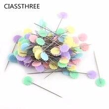 Цветочные пуговицы Лоскутные с бантом штифты иглы для шитья стеганая маркировка