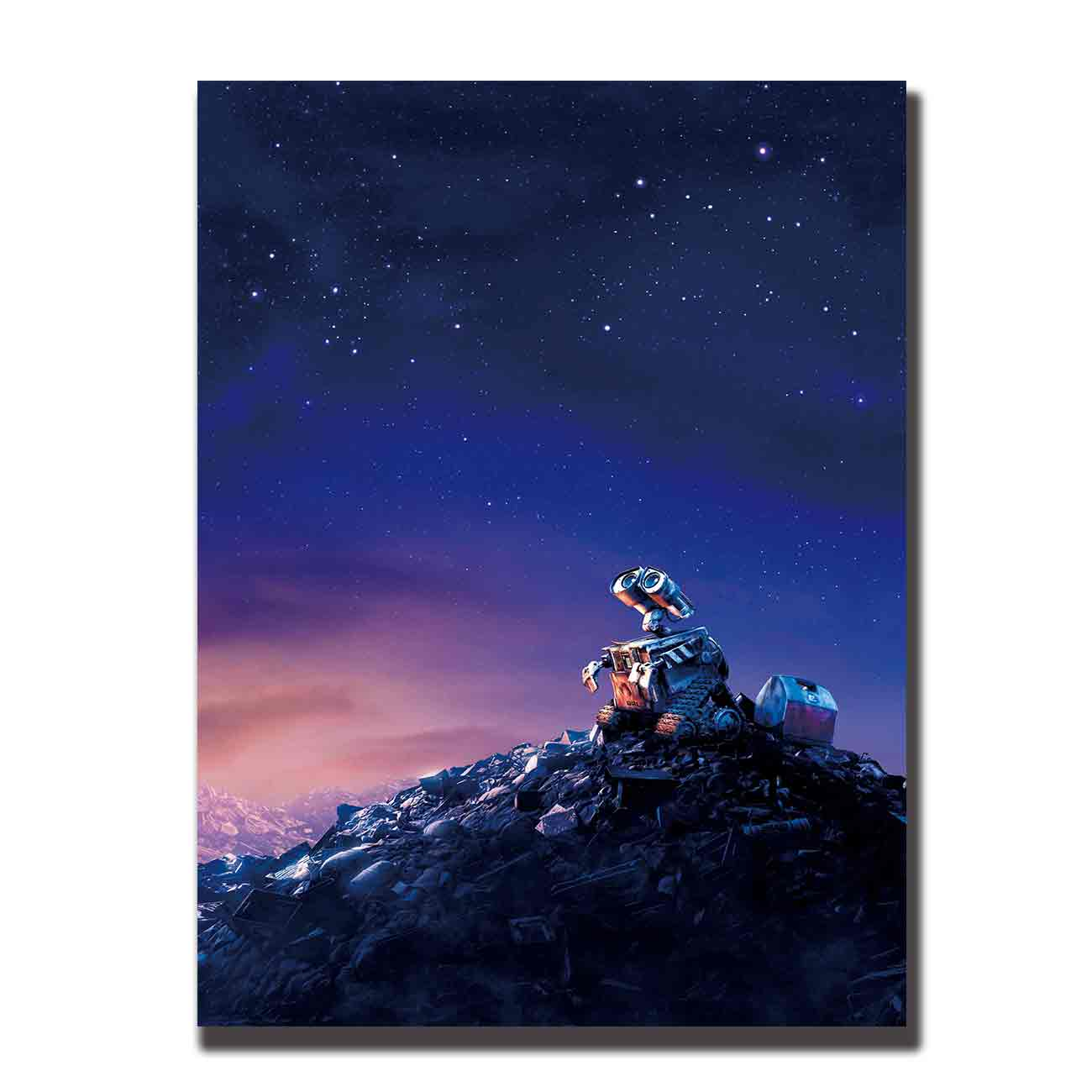Art silk Poster wall e 2008 12x18 24x36 27x40 Wall Canvas Print Modern Decoration painting pictures image