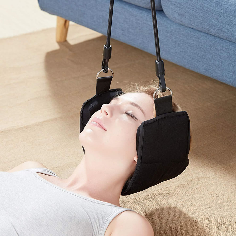 Neck Nerves Pressure Tension Headaches Pain Relief Massager Head Hammock Traction Device Cervical Posture Alignment SupportNeck Nerves Pressure Tension Headaches Pain Relief Massager Head Hammock Traction Device Cervical Posture Alignment Support