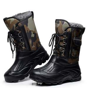 Snow-Boots Fishing-Shoes Hunting Ski Waterproof Men Lacing Mountaineering Front Outdoor