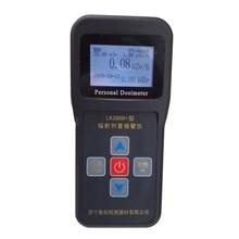 Instrumentos de radiación LK3600 radiación nuclear detector dosímetro personal de alarma Inglés versión De Alarma de medición de Radiación