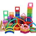 19-149 pcs 3D Magnética Conjunto Modelo de Construção Designer & Blocos de Construção Magnético Brinquedos Educativos para Crianças Caçoa o Presente