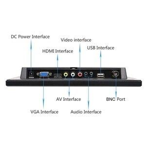 Image 3 - Ekran dotykowy 10.1 cala 1280x800 HD na PS3/4 komputer przenośny monitor bezpieczeństwa Xbox z głośnikiem interfejs hdmi VGA