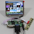 DVI VGA LCD controller board LVDS Tcon 5.6inch AT056TN53 V1 640X480 lcd panel