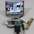 DVI VGA placa controladora LCD AT056TN53 V1 Tcon LVDS 5.6 polegadas 640X480 painel lcd