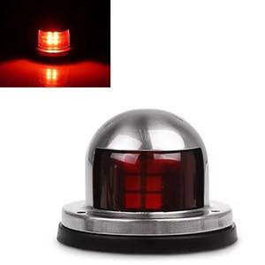 Image 3 - 1 çift Kırmızı Yeşil Liman Sancak Işık LED navigasyon ışığı 12 V tekne Yat