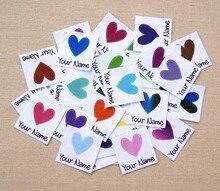 96 adet Özel logo etiketleri/marka etiketleri, kişiselleştirilmiş adı etiketleri çocuklar için, demir, özel Giyim Etiketleri, Isim Etiketleri