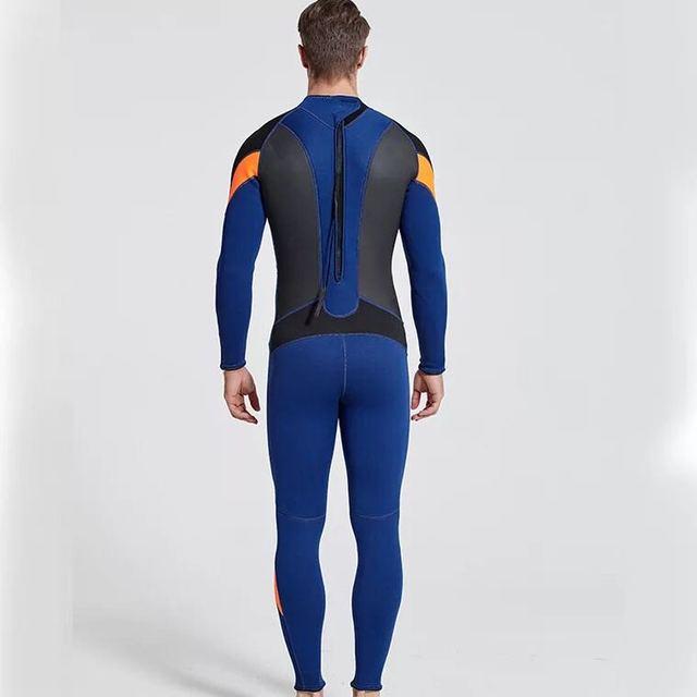 Sbart Mens Neoprene Wetsuit Mergulho 3mm Patchwork Surf Spearfishing Swimsuit Scuba Diving Suit Diving Equipment