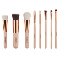 8pcs makeup brushes sets maquillage pincel Cosmetics Shadow Foundation blending pencil brush make up brushes Tools Kits Eye Shadow Applicator